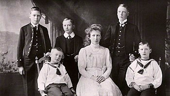 The children of King George V and Queen Mary