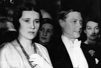 Thelma Furness and Prince Edward
