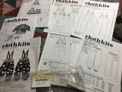 Vintage Clothkits designs