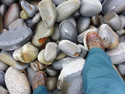 The Pebbles on the Beach