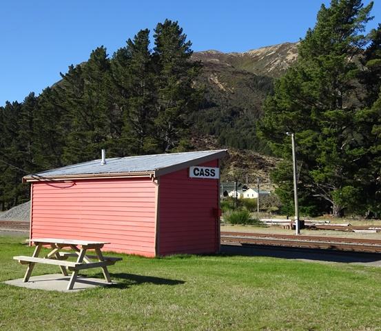NZ 17 RA CASS STATION