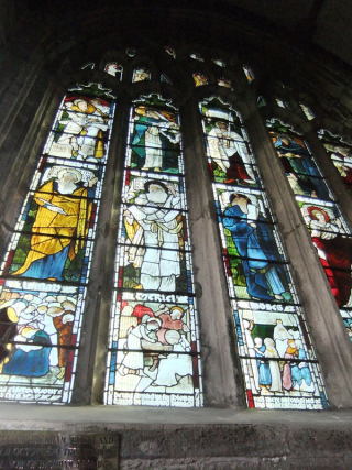 William Morris window, Tavistock Parish Church