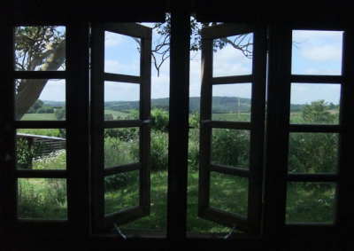 The view from the Summer House