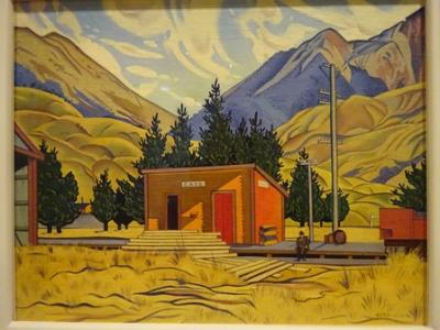 Cass Station Rita Angus