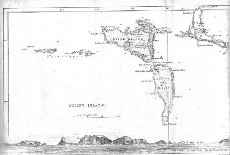 Shiants map