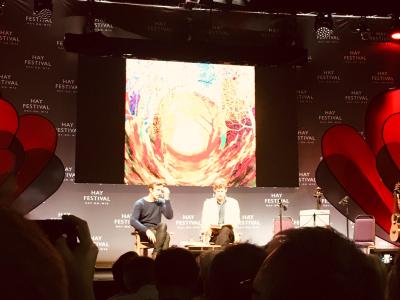 Robert Macfarlane Hay Festival 2019