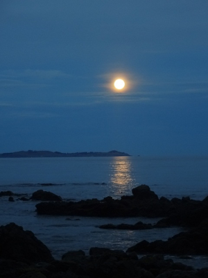 Full Moon at Kaikoura