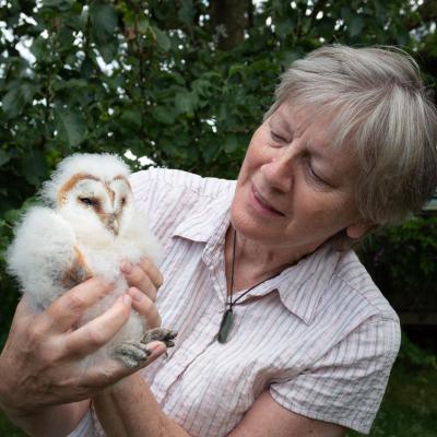dovegreyreader & the Owlet