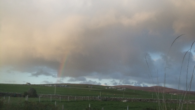 Orkney 2012 rainbow