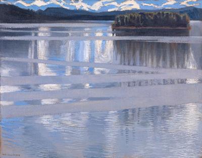 Lake Keitele ~ Akseli Gallen-Kallela,