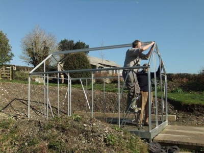 Raising the greenhouse