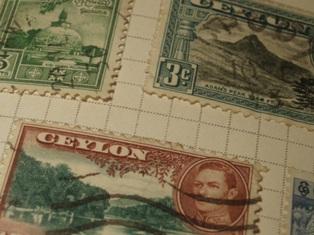 Ceylon_stamps