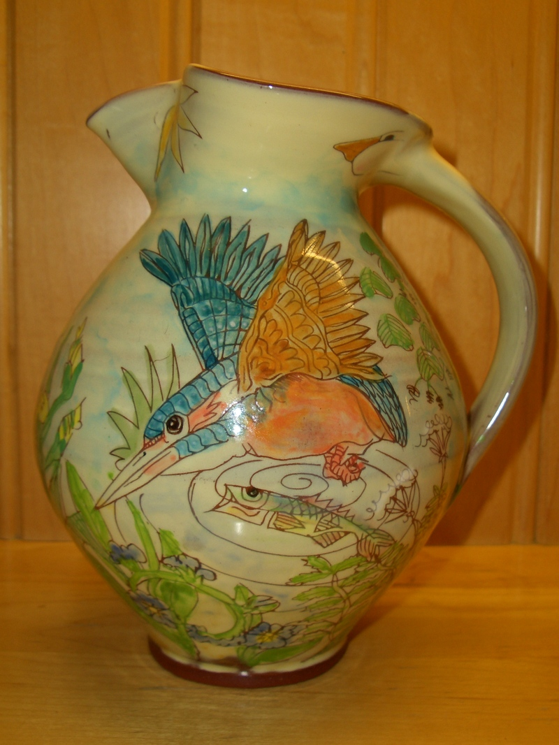 Kingfisher_jug